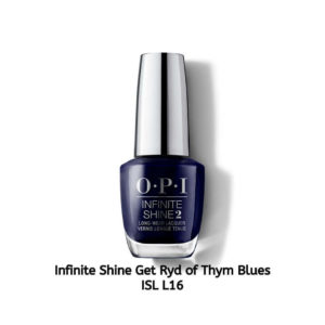 OPI Infinite Shine לק לציפורניים Get Ryd-of-thym Blues ISL L16