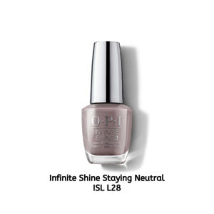 OPI Infinite Shine לק לציפורניים Staying Neutral ISL L28
