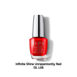 OPI Infinite Shine לק לציפורניים Unrepentantly Red ISL L08