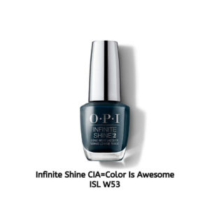OPI Infinite Shine לק לציפורניים CIA=Color IS Awesome ISL W53