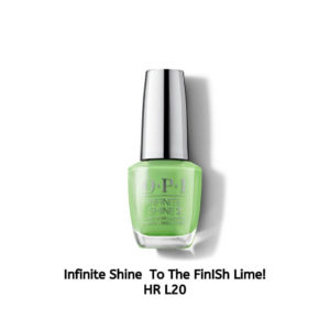 OPI Infinite Shine לק לציפורניים To the FinISh Lime! ISL L20