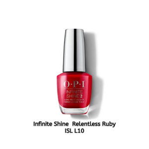 OPI Infinite Shine לק לציפורניים Relentless Ruby ISL L10